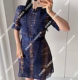 Женское нежное кружевное стильное платье, фото 9