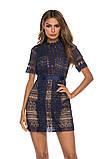 Женское нежное кружевное стильное платье, фото 10