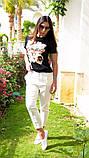 Женская стильная  футболка Котик, фото 3