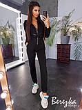 Модный женский комбинезон с капюшоном, фото 3