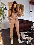 Модный женский комбинезон с капюшоном, фото 4