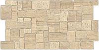 Листовые панели ПВХ Грейс (Grace)-Камень ракушечник бежевый