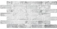 Листовые панели ПВХ Грейс (Grace)-Кирпич старый серый