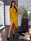Элегантное платье с разрезом на ножке, фото 7