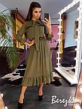 Платье из сетки добби, фото 3