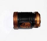Раскладной кемпинговый фонарь 3в1 5882 с солнечной панелью, фото 2