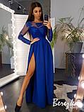 Платье макси с кружевным верхом, фото 4
