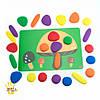 Радужная галька. Набор для малышей с карточками  EDX Education, фото 3