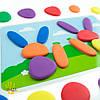 Радужная галька. Набор для малышей с карточками  EDX Education, фото 5