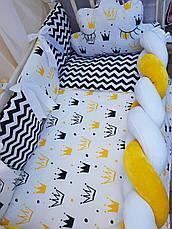 Комплект в детскую кроватку Косичка 00013, фото 3