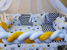 Комплект в детскую кроватку Косичка 00013, фото 2