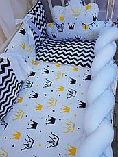Комплект в детскую кроватку Косичка 00014, фото 3