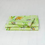 Комплект постельного белья детский ранфорс 7823 зеленый ТМ Вилюта, фото 2