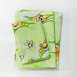 Комплект постельного белья детский ранфорс 7823 зеленый ТМ Вилюта, фото 3
