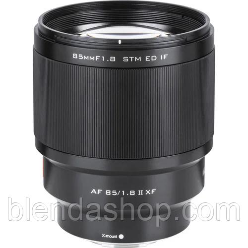 Объектив VILTROX AF 85/1.8 II XF (AF 85mm F1.8 II XF) (автофокусный FujiFilm X) II версия