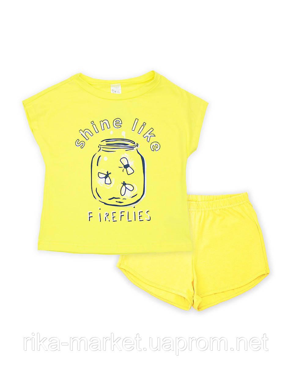 Пижама для девочки, Смил, от 2 до 6 лет, 104393
