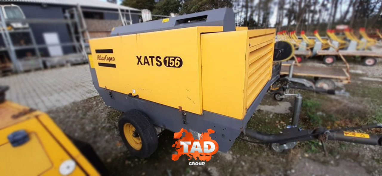 Компрессор ATLAS COPCO XATS 156 (2012 г)