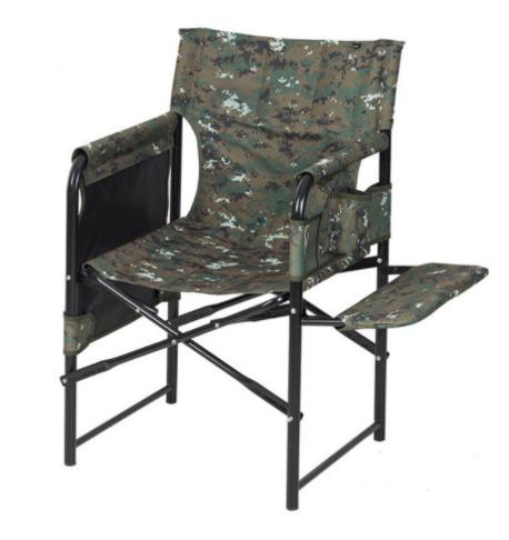 Раскладное кресло VITAN «Режиссер эконом» с мягкой полкой