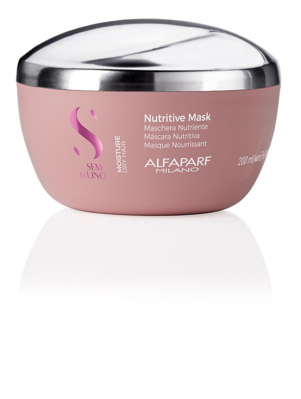 Маска Alfaparf Moisture Semi di Lino для сухих волос 200 мл. Nutritive mask