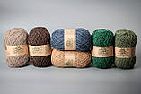 Пряжа шерстяная Vivchari Ethno-Natura Color, Color No.212 кофейный, фото 3