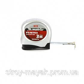 Рулетка Magnetic 3 м х 16 мм, магнитный зацеп, MTX