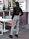 Брюки женские шерстяные серый, чёрный, бежевый 42-44,46-48,50-52, фото 4