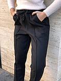 Брюки женские шерстяные серый, чёрный, бежевый 42-44,46-48,50-52, фото 5