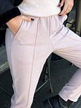 Брюки женские шерстяные серый, чёрный, бежевый 42-44,46-48,50-52, фото 7