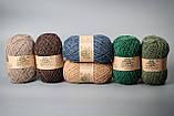 Пряжа шерстяная Vivchari Ethno-Natura Color, Color No.215 джинс, фото 3