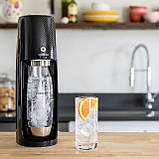 Аппарат для розлива воды Sodastream Spirit Black, фото 3