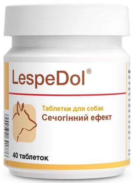 """ЛЕСПЕДОЛ LESPEDOL """"DOLFOS"""" для правильного функционирования мочевыводящих путей у собак, 40 таблеток"""
