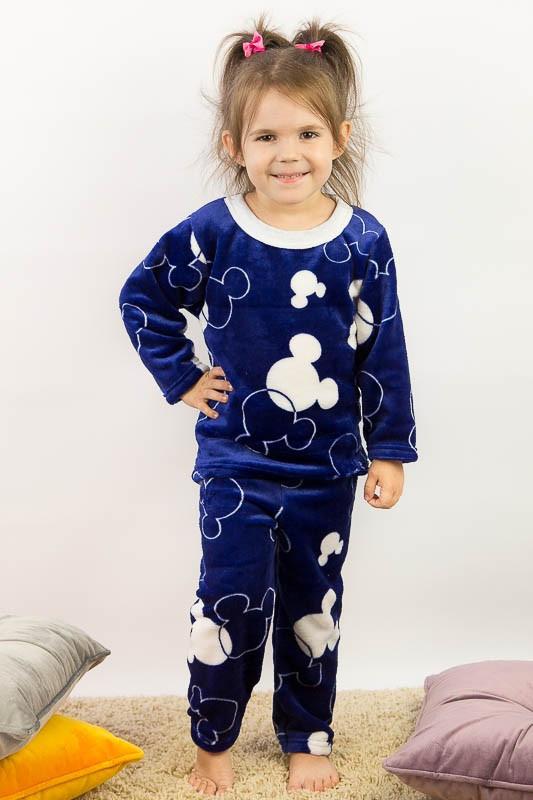 Пижама для девочек махровая
