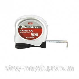 Рулетка Magnetic 5 м х 19 мм, магнитный зацеп, MTX