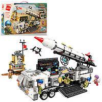 Большой военный конструктор для мальчиков, военная техника для детей от 6 лет, 1088 деталей