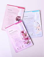 Набор корейских тканевых масок для лица Mamonde Camellia + Rose + Narcissus 20 г 3 шт