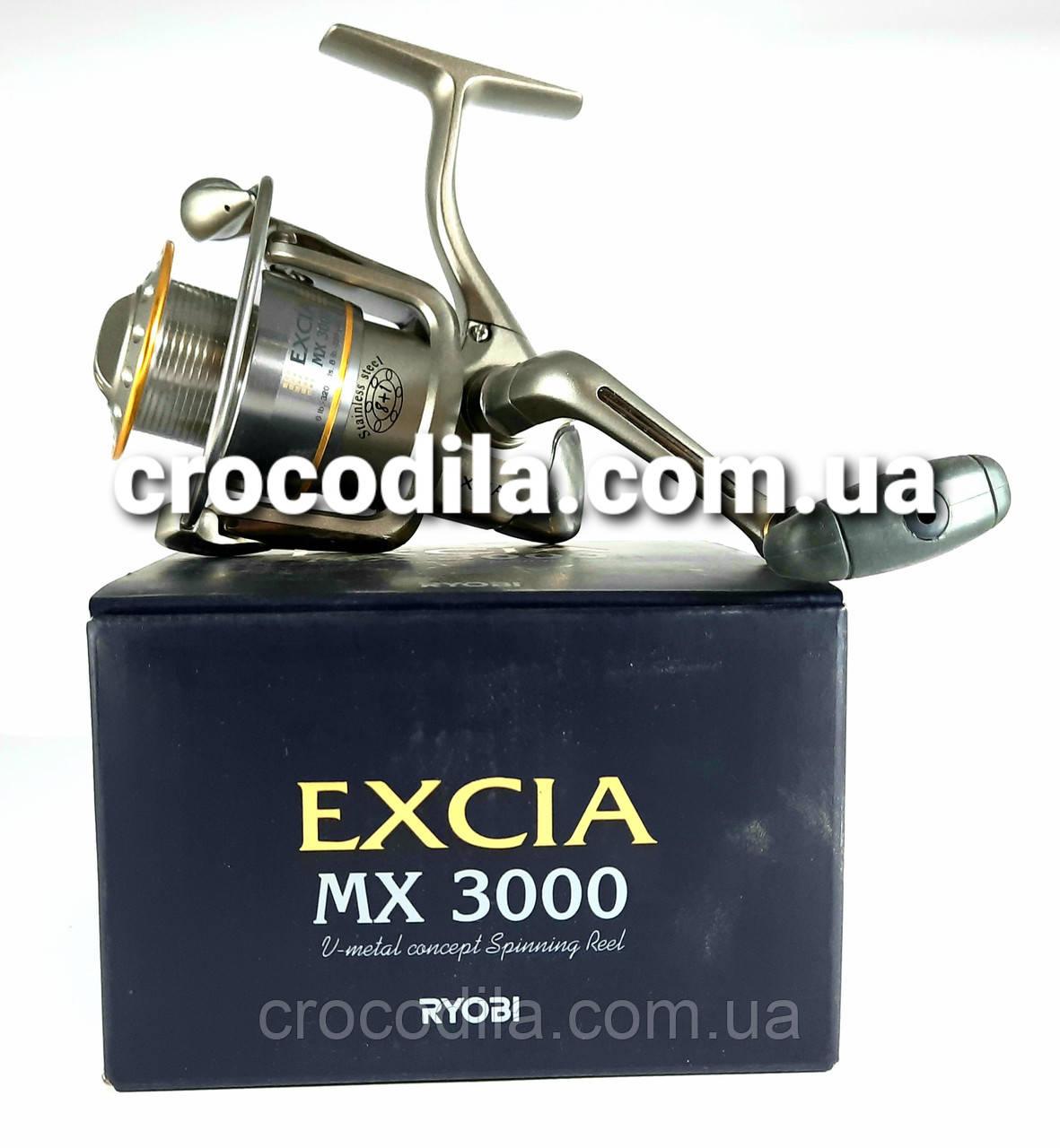 Спиннинговая котушка Ryobi Excia 2000 1 алюмінієва шпуля в комплекті