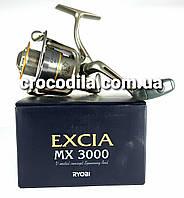 Спиннинговая котушка Ryobi Excia 2000 1 алюмінієва шпуля в комплекті, фото 1