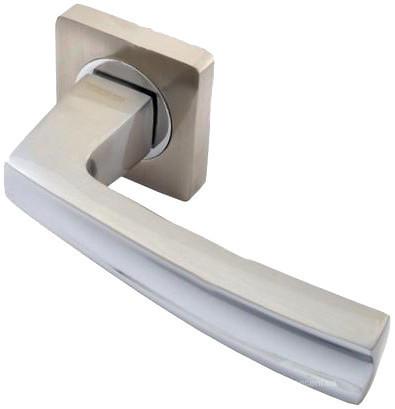 Ручка дверная Кедр R08.140  Сатин/хром