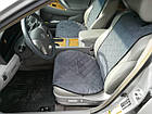 Накидки/чехлы на сиденья из эко-замши Пежо 607 (Peugeot 607), фото 4