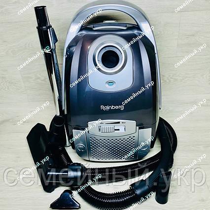 Пылесос для сухой уборки, мешковой 3200 Вт Rainberg RB-657, фото 2