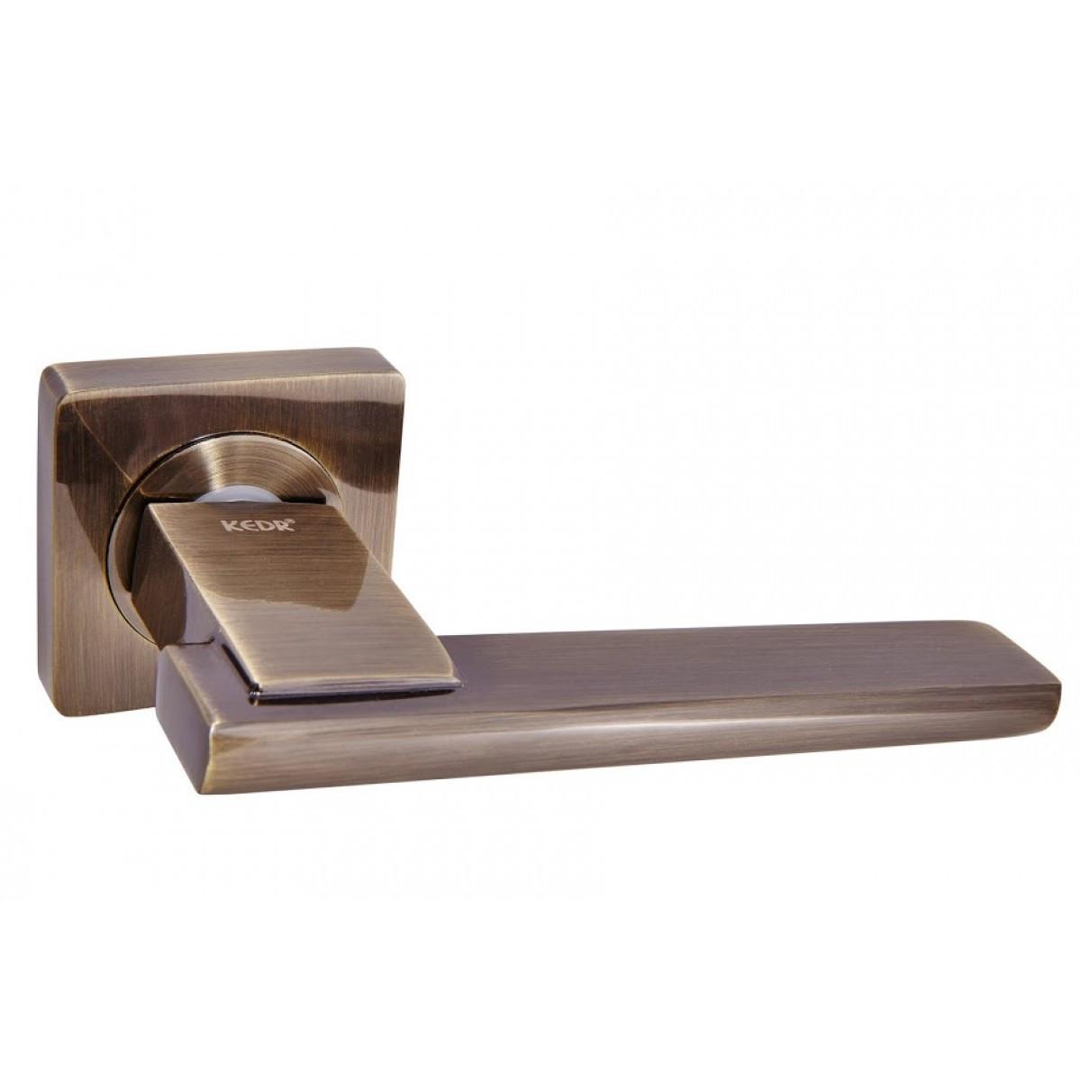 Ручка дверная Кедр R08.142 Бронза