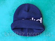 Шапка Adidas/ шапка адидас/ шапка женская/шапка мужская/ синий, фото 2