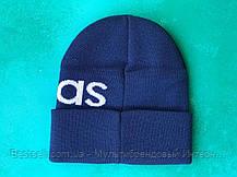 Шапка Adidas/ шапка адидас/ шапка женская/шапка мужская/ синий, фото 3