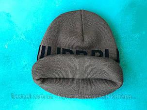 Шапка Philipp Plein / шапка філіп преин / шапка жіноча/шапка чоловіча/хакі, фото 2