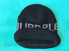 Шапка Philipp Plein / шапка філіп преин / шапка жіноча/шапка чоловіча/ чорний, фото 3