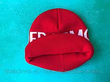 Шапка Under Armour / шапка андер амур/ шапка жіноча/шапка чоловіча/червоний, фото 3