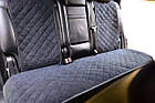 Накидки/чехлы на сиденья из эко-замши Мерседес 164 (MERCEDES 164), фото 6