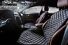Накидки/чехлы на сиденья из эко-замши Мерседес Виано (MERCEDES Viano), фото 3