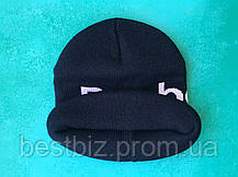 Шапка reebok / шапка рибок/ шапка женская/шапка мужская/темно-синий, фото 2