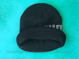 Шапка Puma / шапка пума/ шапка женская/шапка мужская/черный, фото 2